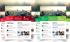 Corporate Business Flyer by Creative Idea on @creativemarket