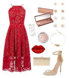 """valentines"" by valeriapatriciamosquera on Polyvore featuring Warehouse, New Look, Lodis, Forever 21 and Urban Decay"