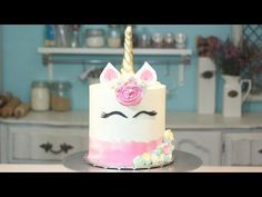 How to Bake Magical Multi-Colored Unicorn Macaron Tutorial - YouTube