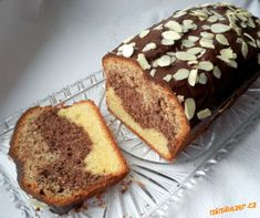 Czech Recipes, Sweets Cake, Sponge Cake, Pound Cake, Banana Bread, French Toast, Food And Drink, Cooking, Breakfast
