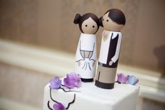 leia / han cake