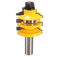 1/2 Inch Shank Stacked Rail and Stile Router Bit Woodworking Tool