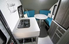 New RVs for 2020: Small Trailers | Trailer Life Tiny Trailers, Small Trailer, Camper Trailers, Lightweight Camping Trailers, Light Travel Trailers, R Pod, Aluminum Uses, Rv Interior, Modern Interior