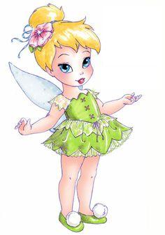 Tinkerbell Doll Design by Lisa Temming  More Disney @ http://groups.google.com/group/FantasyMagie & http://groups.yahoo.com/group/fantasy_forum &  http://groups.google.com/group/Comics-Strips & http://groups.yahoo.com/group/ComicsStrips &  http://www.facebook.com/ComicsFantasy & http://www.facebook.com/groups/ArtandStuff  Disney @ http://nl.pinterest.com/ingestorm/disney/