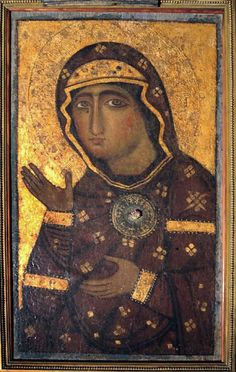 Icon of Madonna di Sant' Alessio (Madonna of St. Madonna of Intercession) Religious Images, Religious Icons, Religious Art, Byzantine Art, Byzantine Icons, Religious Paintings, Russian Icons, People Art, Wise People