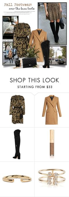 """Fall Footwear: Over-The-Knee Boots"" by thewondersoffashion ❤ liked on Polyvore featuring Krystal, Lanvin, Balmain, Gianvito Rossi, Chanel, Dolce&Gabbana, Kenneth Jay Lane and Loren Stewart"