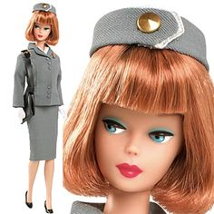 Barbie Pan Am Stewardess Reproduction is a Collectable Barbie Doll that was released for 2010 in December 2009.