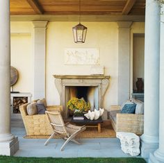 Wonderful Outdoor living space on this backyard deck/porch overlooking the ocean in Malibu