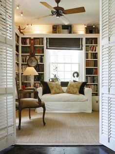 My future house will have a library room or at least a nook!