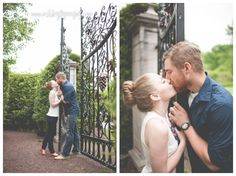 Engagement session with large adorned gate { Ashley Lynn Fry : Photography & Creative Styling } » Philadelphia, PA based photography & creative styling for weddings, parties & more!