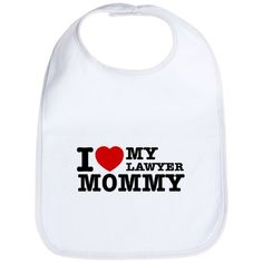 'Lawyer Mommy' bib