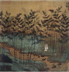 Zhao Mengfu. Self Portrait. 1299, Album leaf. Palace Museum Beijing - Zhao Mengfu - Wikipedia, the free encyclopedia