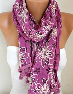 Spring Celebrations Floral Scarf Mother's Day Gift by fatwoman