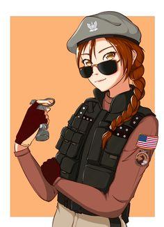 Ash's new elite skin fanart Rainbow Six Siege Dokkaebi, Rainbow 6 Seige, Tom Clancy's Rainbow Six, R6 Wallpaper, Fanarts Anime, Kawaii Anime Girl, Anime Girls, Human Art, Manga Pictures