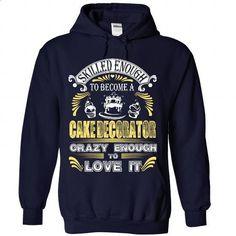 Proud to be Cake-Decorator - #cute hoodies #mens t shirt. SIMILAR ITEMS => https://www.sunfrog.com/Funny/Proud-to-be-Cake-Decorator-3153-NavyBlue-Hoodie.html?id=60505