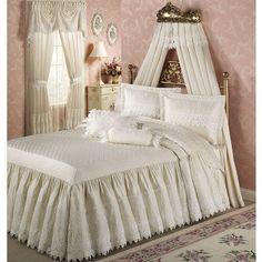 Trousseau Lace Bedspread Bedding