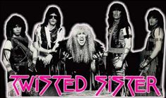Rock of Ages features the music of Twisted Sister--http://www.twistedsister.com/