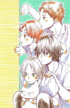 Anime Guys, Manga Anime, Natsume Takashi, Anime Best Friends, Hotarubi No Mori, Natsume Yuujinchou, Anime Life, Manga Pictures, Manga Games