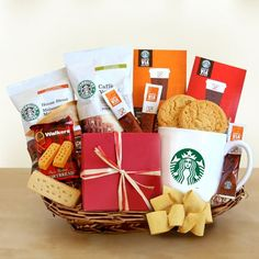 Starbucks Gourmet Coffee Inspirations Gift Basket $72.99