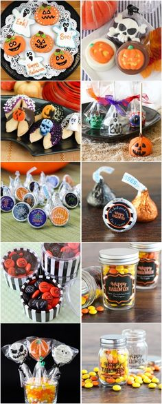 Fall Halloween Wedding Ideas - Personalized Fall Halloween Cookies and Favors #ad
