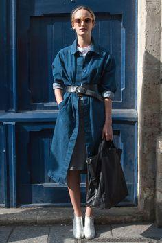 Streetstyle via Vogue Russia