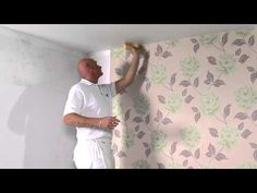 How To Hang Wallpaper on an Inside Corner - YouTube