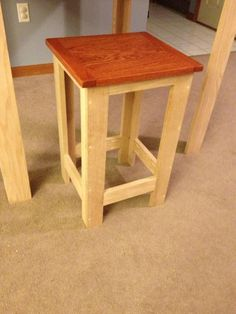 Pub Table height stool, modern design tutorial