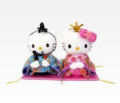 "Hello Kitty & Dear Daniel 9"" Plush Set: Sakura"