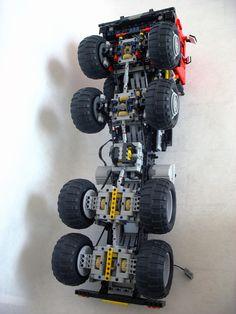 Lego Robot, Lego Mecha, Lego Toys, Lego Technic Truck, Lego Truck, Lego Tractor, Tractors, Lego Studios, Lego Machines