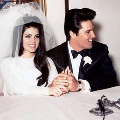 Memory of the day: the lovely Priscilla marries Elvis Presley #lostintime #beautiful #memories #blogginglife