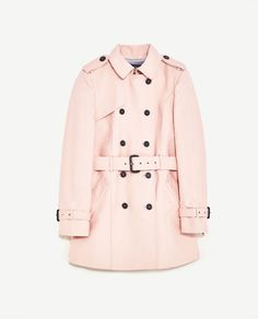 Image 8 of DOUBLE BREASTED TRENCH COAT from Zara