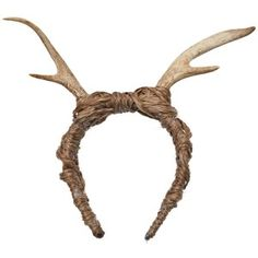 Fauxtale - ANTLER HEADBAND (Yup, you can actually wear this out. Maybe at my next Bacchanalia party. Antler Headband, Horn Headband, Head Wrap Headband, Headband Hairstyles, Diy Hairstyles, Gucci Headband, Hair Shows, Hair Accessories For Women, Antlers