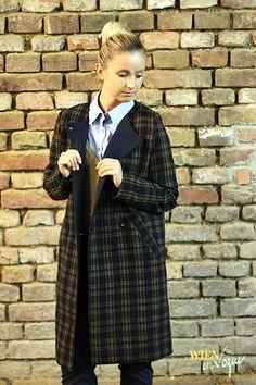 WIEN EN VOGUE: FASHION INSIGHT: // Karo – all time favourite im Herbst // #karo #checked #coat #mantel #karomantel