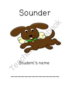 Sounder Common Core Unit from teachbyday on TeachersNotebook.com -  (13 pages)  - This is a book unit on Sounder written by William H. Armstrong. It is based on the Common Core Standards. It includes a numbered packet (13 pages) that has a different reading strategy for each chapter.