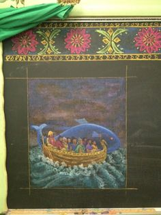 Grade 5 ~ Manu and the Flood - Ancient Indian flood story — at The Waldorf School of San Diego.