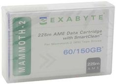 Get Exabyte 00558 8mm #Data #backup #tape that offers excellent storage capacity of 60GB Native & 150GB Compressed available here