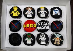 Lego Star Wars by Animated Cupcakes, via Flickr