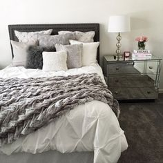 I just finished decorating my guest room and so excited to share it with ya'll ! It has sort of become my second office and I now want to redo our master because I love this color palette so much Everything is linked right this way http://liketk.it/2p2Ac @liketoknow.it #liketkit @liketoknow.it.home