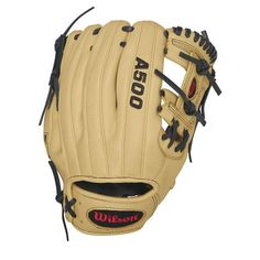 WILSON A500 H-Web Infield Baseball Glove was made for the players who are asked to field multiple positions in the infield.