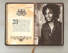 """60 Visions : A Book of Prophecy"" - Bob Marley.... I want to own this book!"