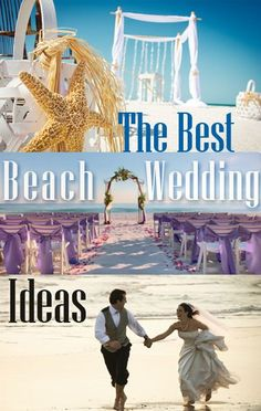 Ever dreamt of taking your vows on a sandy beach? We're taking you to discover six beach wedding ideas for you to consider. Pinned by Michael Eric Berrios Wedding DJMC #weddingdj #destinationdj http://TheBestWeddingDJEver.com