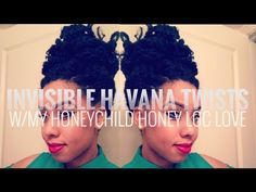 How To Tutorial: Invisible Root Havana Twists//Jouelzy