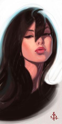 Timed+Head+Sketch+526+by+FUNKYMONKEY1945.deviantart.com+on+@deviantART