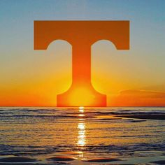 Image may contain: ocean, sky, twilight, outdoor and water Tn Vols Football, Tennessee Volunteers Football, Titans Football, Tennessee Football, College Football Teams, Best Football Team, Football Season, Tennessee Game, Sports Teams