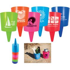 Beach Nik Cup Holder | Trade Show Giveaways | 1.39 Ea.