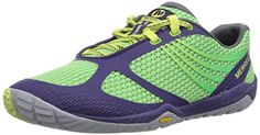 Awesome Merrell Women's Pace Glove 3 Trail Running Shoe,Purple/Spring Green,9 M US
