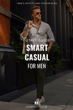 Erfahre welche Teile zu diesem Herrenoutfit passen! Smart Casual Outfit für Männer. Eleganter Look mit Chinohose, Hemd, Sakko und Sneaker. Modernes Outfit im smarten Stil für die Arbeit und in der Freizeit. Aktuelle Outfits für Männer mit passenden Teilen findest Du bei Favorite Styles. Herrenmode, Outfits aller Marken und Stile. Hole dir jetzt Outfit Ideen für dein Männeroutfit!