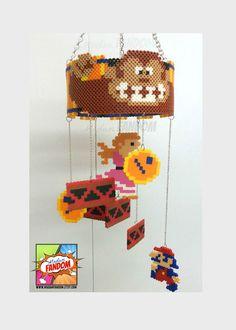 Donkey Kong Hanging Mobile from MadamFANDOM *original mobile design by #MadamFANDOM*