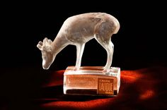 Deer Crystal Lalique Deer, Table Lamp, Crystals, Antiques, Home Decor, Antiquities, Lamp Table, Antique, Decoration Home