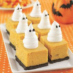 I could do this with the pumpkin crunch?Halloween desserts